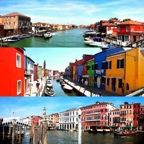 Venice Enjoying Life Beautiful Urban Landscape