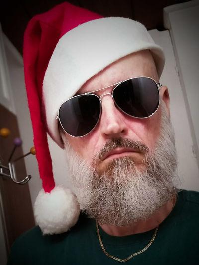 Bah Humbug Merry Christmas ♡ Beard Beardswag Beardedguy Beardpower Trailertrash Beardporn Beardseason Nothing Special No Flash It's All About Me! Sunshine State