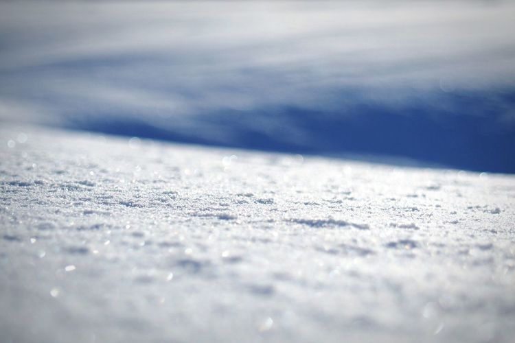 View of snowy slope