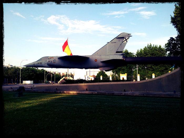 Ejercitoespañol Ejército Del Aire Mode Of Transport Monumentos  Outdoors Sevilla Tablada