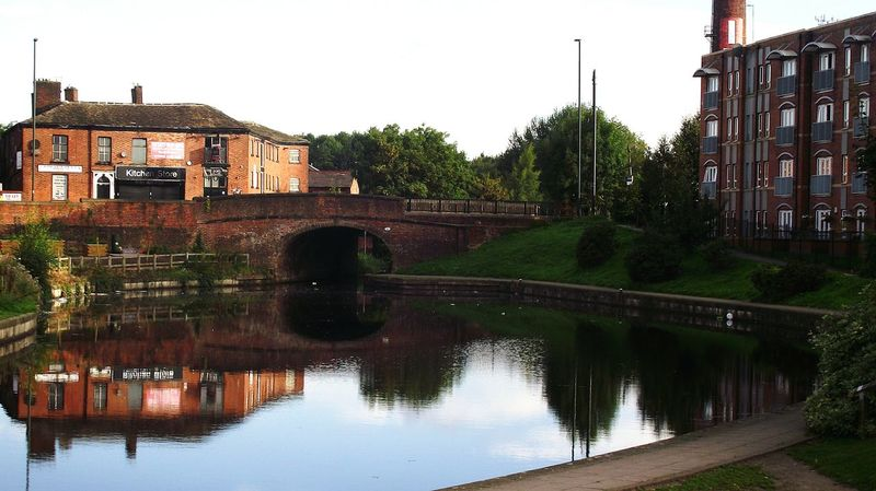 Reflection Architecture Cloud - Sky Water No People Failsworth Oldham Walking Around Standing Water Canal Canal Boat Reflection
