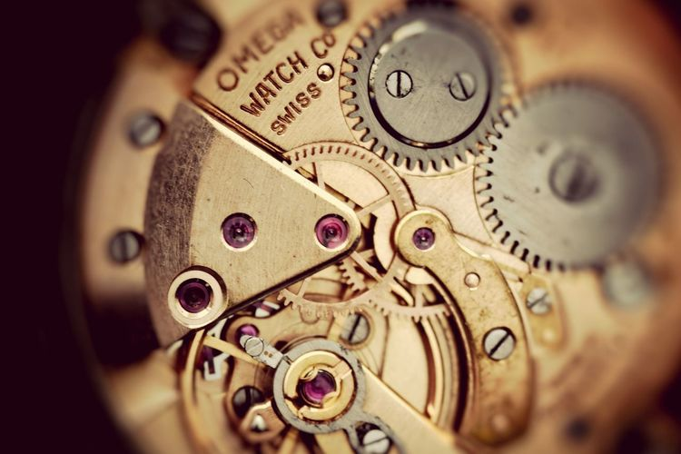 Watches Mechanism Ebay Fake Macro Photography Vintage Effect Had fun pulling this apart today :-)