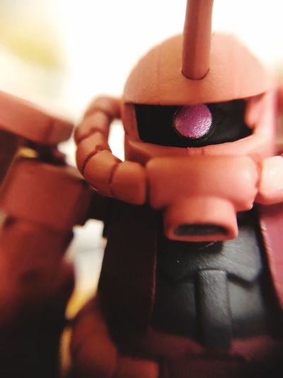 Iphone8plus IPhoneography Gundam Zaku Human Hand Hand Human Body Part Holding One Person Focus On Foreground Real People
