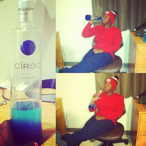 Turnt up last night