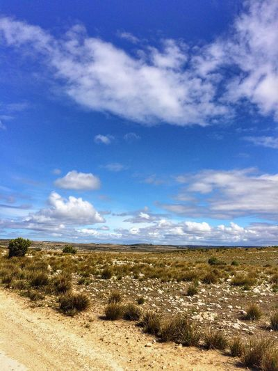 Breathing Space Sky Nature Tranquil Scene Scenics Beauty In Nature Outdoors Grass No People Blue Australian Photographers Clouds And Sky Kangaroo Island Vacation Time