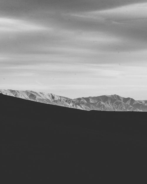 Scenics Mountain Nature Landscape Beauty In Nature Tranquil Scene Tranquility No People Mountain Range Sky Outdoors Day Arid Climate Desert Minimalism Copy Space Minimalobsession