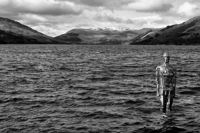 Scotland 💕 Loch Earn Mirror Man Black And White Prometheus The Week On Eyem