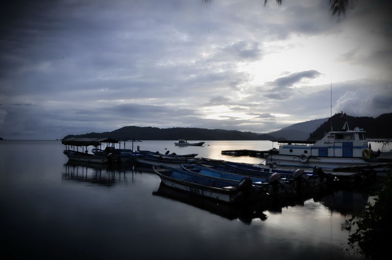 A quite morning The Great Outdoors - 2017 EyeEm Awards Oceanlife Harbor Travel Destinations Batanta Island Raja Ampat