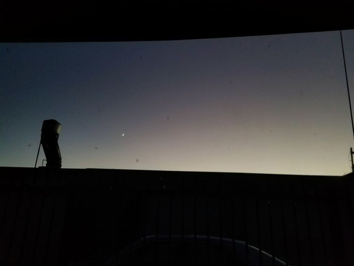 Silhouette Moon One Person Night Astronomy Adults Only People Adult Only Women Sky Star - Space Outdoors One Woman Only Nature