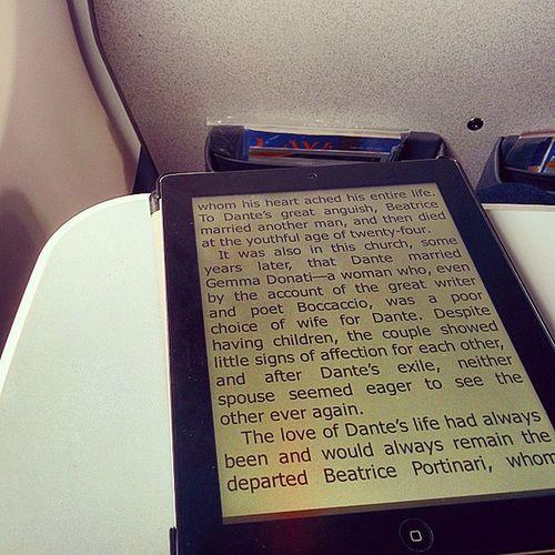 What my flights look like these days Flights Ebooks Inferno DanBrown epicread daynnight