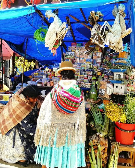 La Paz, Bolivia Multi Colored Hanging Variation Outdoors Aymara Aymara Woman Cholita Witch Witchcraft  Witch Market Dead Dead Lama Lama Sunny Day City Life Market Unusal
