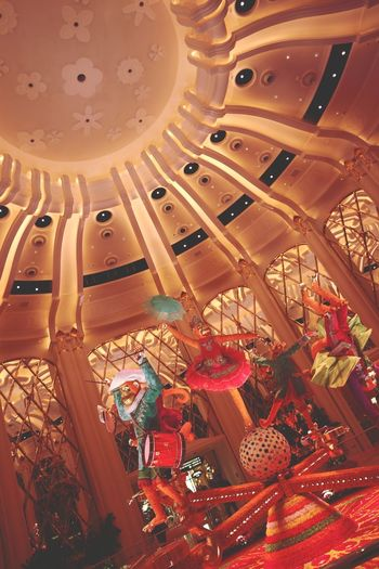 Macau Macao  Taipa  Show 2018 Monkey Casino And Resort Casino EyeEm Selects Indoors  No People Low Angle View Hanging Large Group Of Objects Retail  Choice Illuminated Day Close-up