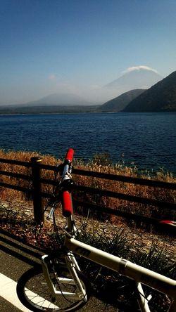 BD-1と富士山 Cycling Lake Motosuko 本栖湖 BD-1 Mtfuji