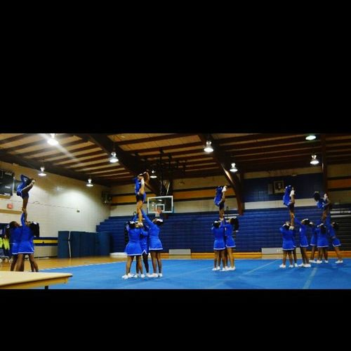 It's a cheer thing Cheersisters  Cheerlife Panthers 💙✊