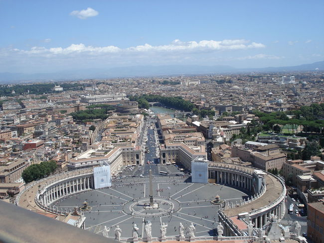 St Peter's Square Architecture Cityscape High Angle View Outdoors Sky Travel Destinations