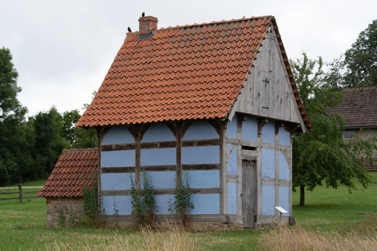 LWL Open Air Museum Detmold Architecture Roof Built Structure Building House Plant Building Exterior Tree Sky Nature Residential District Day No People Field Wood - Material Agricultural Building Old Rural Scene Land Landscape Outdoors Roof Tile Cottage