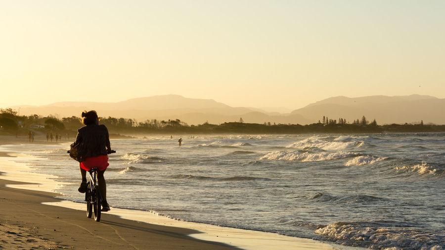 Australia Beach Landscape Landscape_Collection Landscapes With WhiteWall Ocean Ocean View Sea Sunset