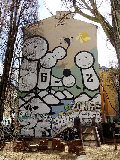 Graffiti Art And Craft Creativity Street Art Built Structure Spray Paint Architecture Kreuzberg Graffiti & Streetart Graffitiart Graffiti Art Berliner Ansichten EyeEm Gallery EyeEm Best Shots