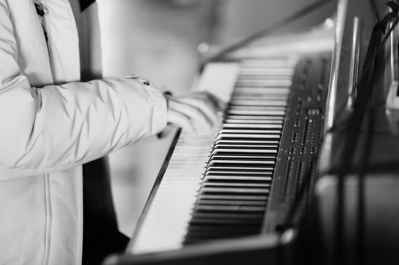 Piano Moments Piano Close-up Memory Human Hand Beauty Hand Blackandwhite