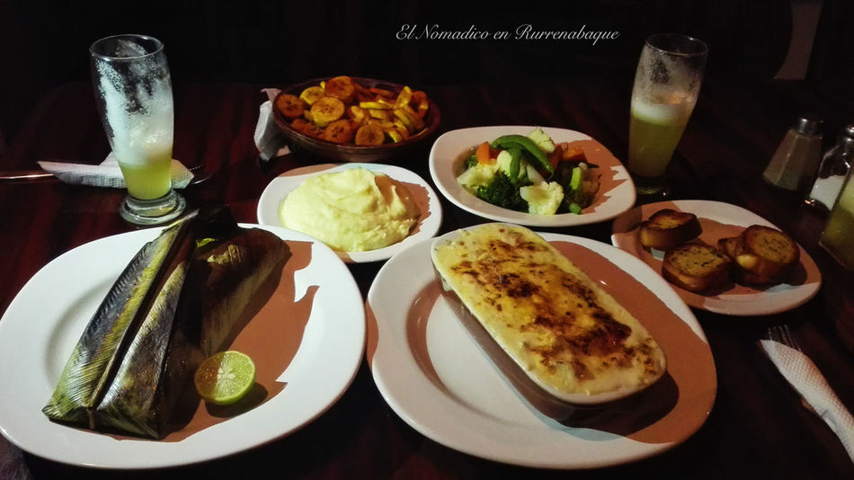 Rurrenabaque Bolivia BOLIVIA ❤ Beni South American Food South American Restaurant No People Food And Drink Ready-to-eat Food Amazon South America Madidi National Park Tourism Destination Tourist El Nomadico Dinner Cena Cenar EyeEmNewHere Long Goodbye Huaweiphotography PhonePhotography Phoneonly