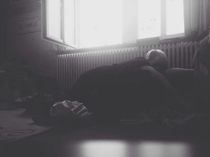 tired Selfportrait Blackandwhite Don Filter Monochrome