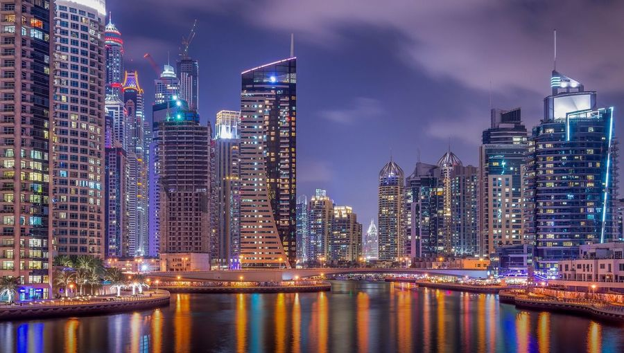 Night photography of Dubai city Photography Mydubai Photographers Cityscapes Nightphotography Urban Dubai
