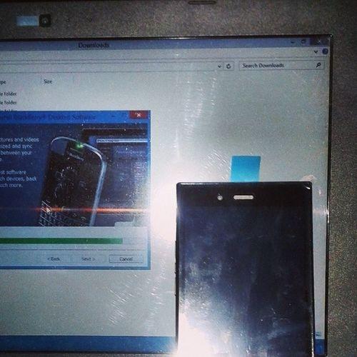 Connect Data Windows BlackberryLink Install BWorld BHub