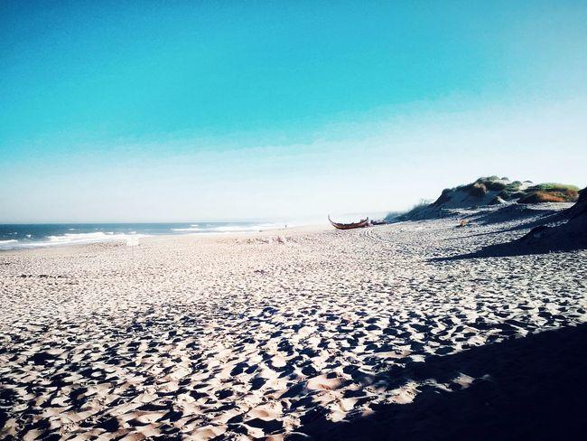 Beach Sea Sand Nature Blue Horizon Over Water Sky