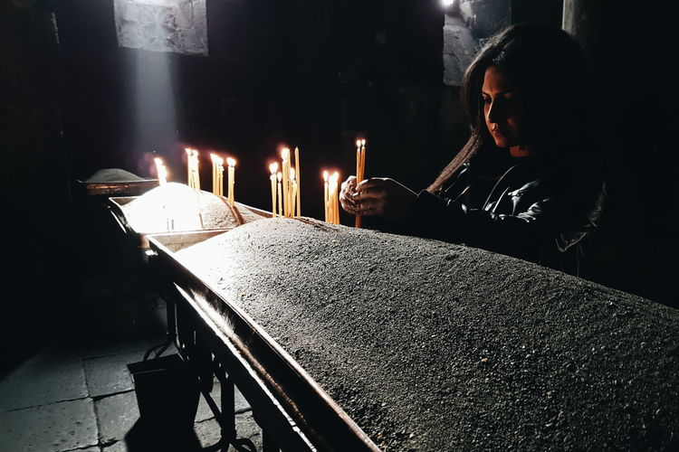 Enjoy The New Normal Armenia Geghard Monastery Candles