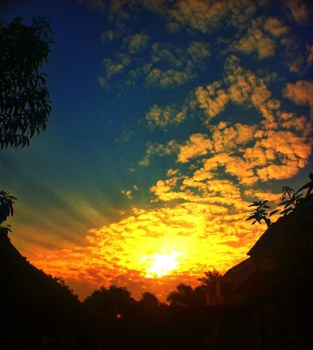 Sunset At My Home