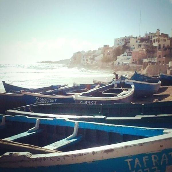 Playa Playa♡ Agadir City Taghazout Surfing Taghazout Beach Calm Lovelovelove∞ Water Sea Day