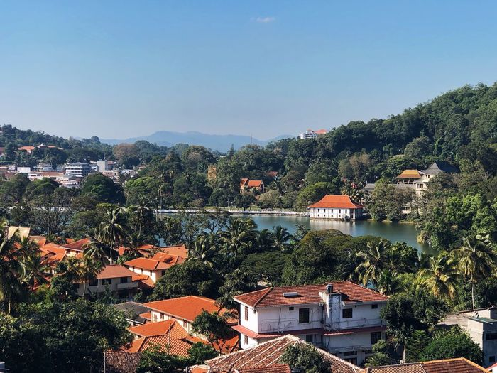 Kandy city in