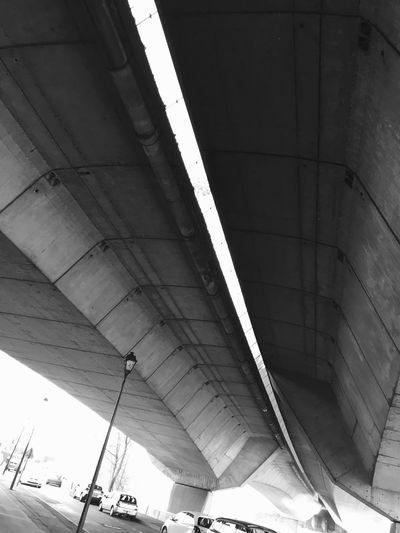 Minimalist Architecture Bridge Perspective Architecture