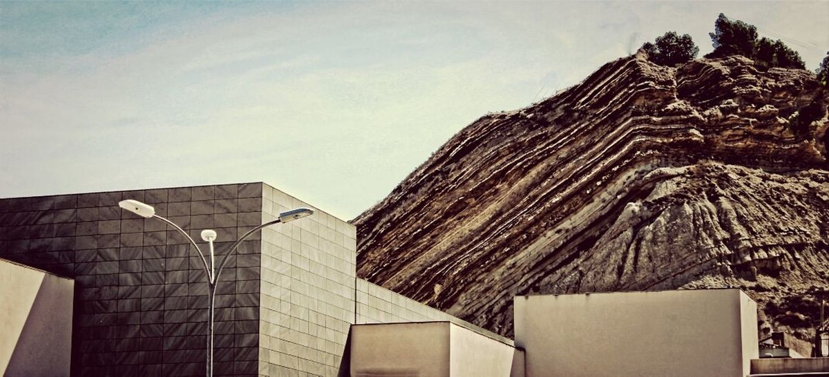Past and Modernity Architecture Mountains Landcape Nature
