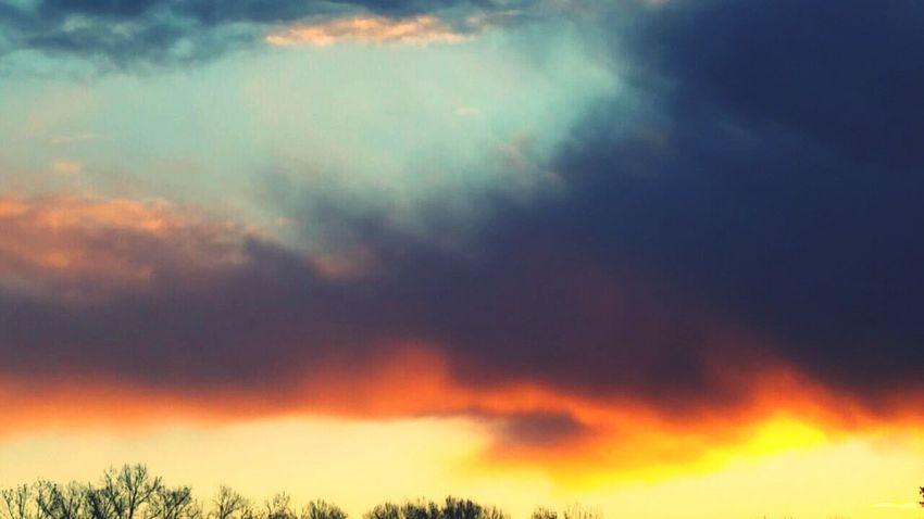 sky, morning , natural beauty