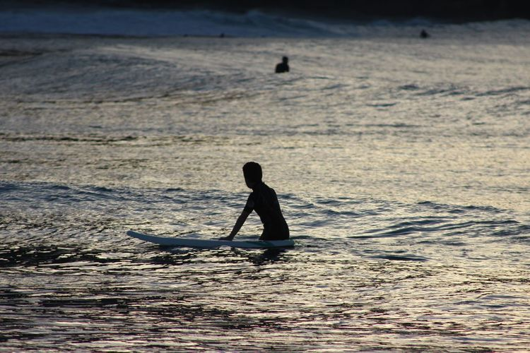 Surfer Silhouette Water Sport Extreme Sports Athlete Skill  Adventure Full Length Aquatic Sport Surfer Surfing Water Sport Paddling Surf Surfboard