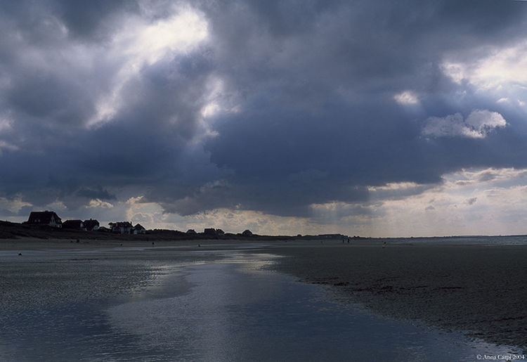 Varaville, Normandy, France Beach Beauty In Nature Cloud - Sky Day Nature No People Outdoors Sand Scenics Sea Sea Normandy Landscape Dramatic Landscape Grey Blue Sky Storm Cloud Stormy Clouds Water