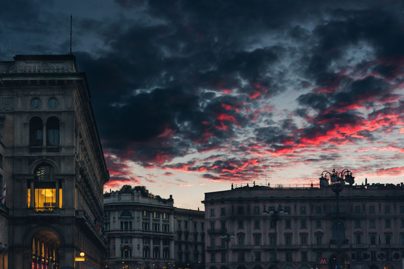 Sky And Clouds Sunset_collection Architecture Building Exterior Built Structure City Cloud - Sky Day Gorgeous Nature No People Outdoors Sky Sunset Travel Destinations