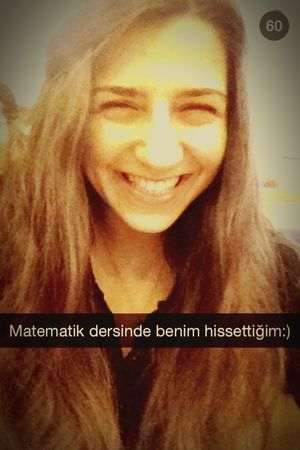 Just Smile  Calculus Smile That's Me Just Me :) Snapseed Snapshot :) bu ders başlarken 💛