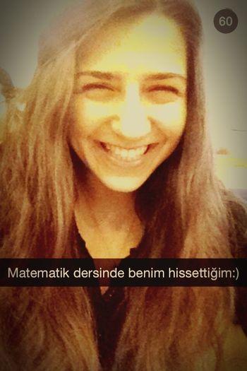 Just Smile  Calculus Smile That's Me Just Me :) Snapseed Snapshot :) bu ders başlarken 💛