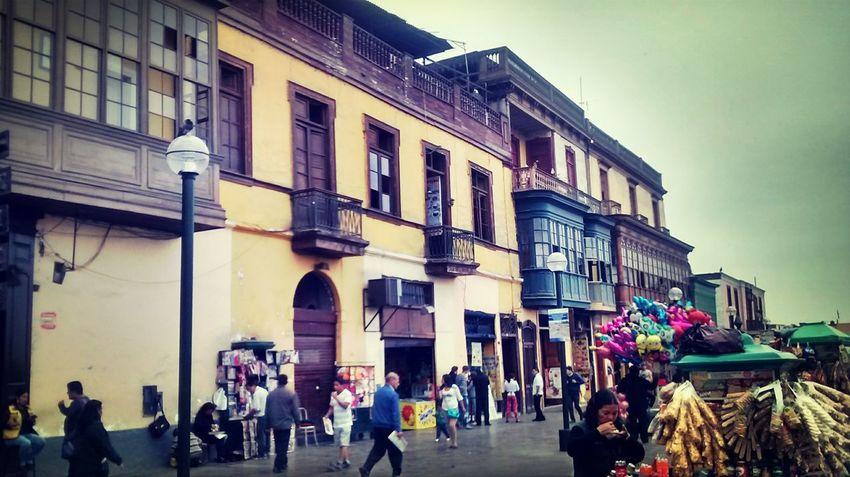 Balcones del Rimac Hello World Lima-Perú