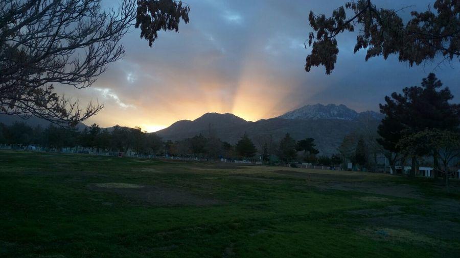 Sun Rise From Koh I Murdar Quetta Sunset Beauty Landscape Grass Nature Fog Mountain Sun Outdoors Space No People Galaxy