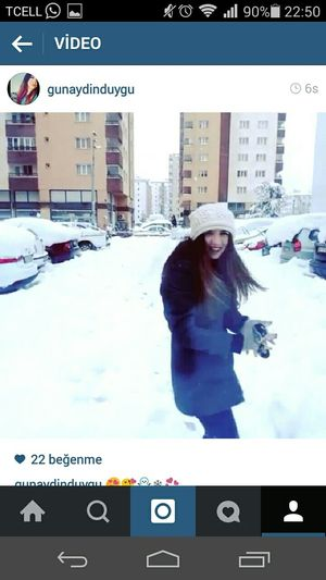 Follow Me On ınstagram ! #follow #follow #follow Snow ❄ Great Day!