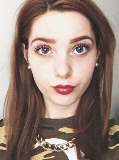 Septum BrownHair Emmure  Selfie Girl