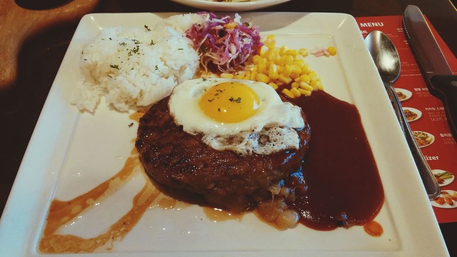 Delicious Hamburger Steak 9900원의 행복!