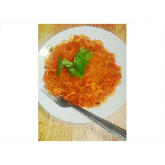 Proud to say that this one is my work. 😁😜😄👍🍝 Palabok Hrm Instafood