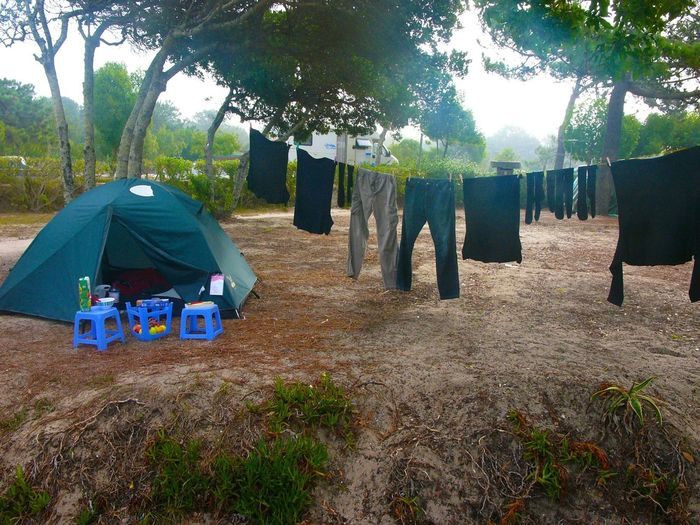 My Blue Chair Nature Hugging A Tree Laundry Clothes Drying Clothes Tent Blue Chairs Lunch Portugal
