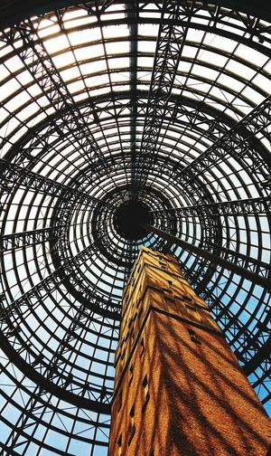 Shot Tower Built Structure Low Angle View Architecture Pattern Indoors  Upward View