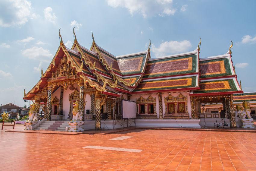 Ancient Architecture History Landscape Religion Sakonnakhon SakonNakhon ,Thailand Statue Temple Temple In Thailand Tourism Travel Travel Destinations