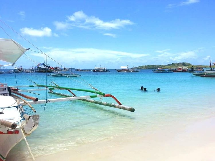Caluguas Sea Beach Outdoors Nature Day Tranquility Scenics Beauty In Nature Cloud - Sky Philippines Calaguas Camarinesnorte EyeEmNewHere